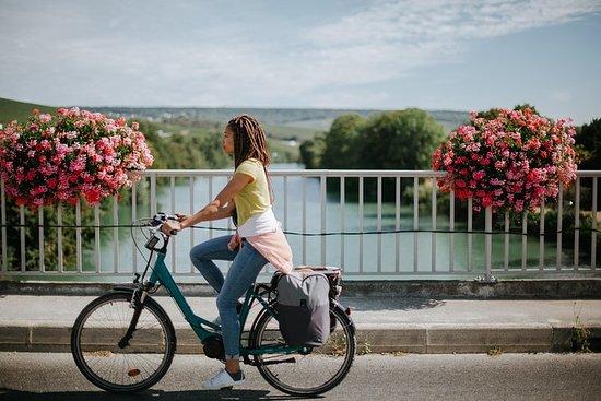 De fietstocht naar de regio Champagne ...