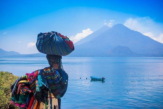 Excursion en bateau sur Atitlan...
