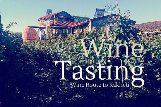 Excursão de vinho orgânico de dia...