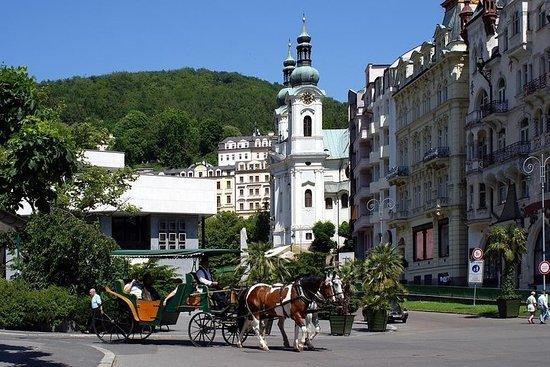 プライベートツアー:プラハからのカルロヴィヴァリとロケット城の日帰り旅行