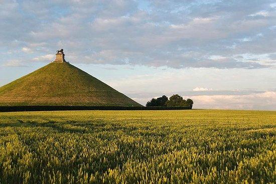 Visite des champs de bataille privés de Waterloo avec Lion Hill