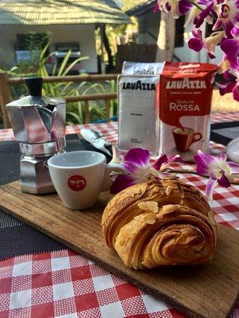 Breakfast in the Trattoria