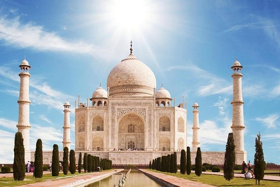Delhi à Agra et Taj Mahal au lever du...