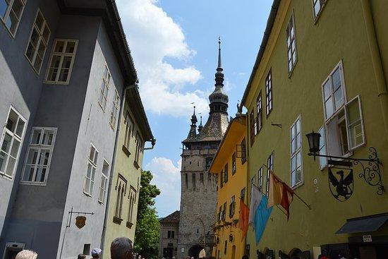Visite de Sighisoara, Medias et Biertan au départ de Sibiu