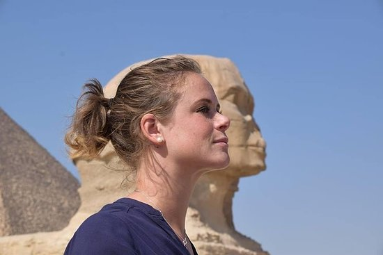 tur til Cairo museum og Giza pyramider...