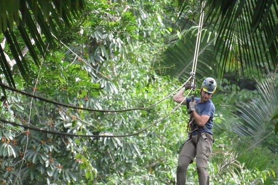 Experiência Cultural Canopy e Garifuna...
