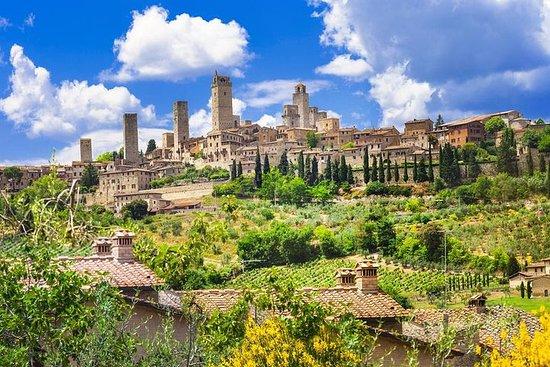 從佛羅倫薩到錫耶納,比薩和聖吉米尼亞諾的私人旅遊
