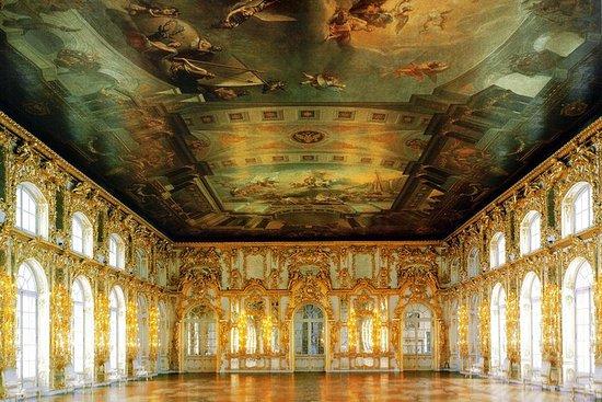 Bezoek aan Pushkin (Tsarskoye Selo ...
