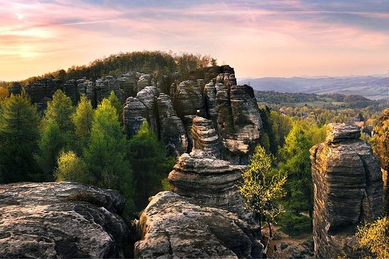 Best of Bohemian and Saxon Switzerland Day Trip from Prague- Fantasy...