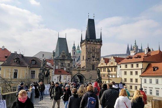 Tour a piedi per piccoli gruppi di Praga
