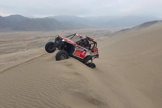 リマの砂漠でのUTV