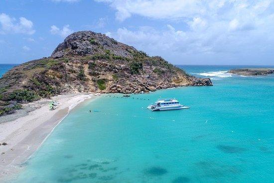 Ponce Beach tur med katamaran til Caja de Muertos