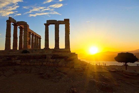 雅典市,雅典海滨和Cape Sounio全日私人旅游