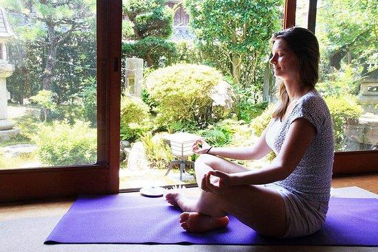 癒しの瞑想、ヨガのセッションと、日本料理クラス