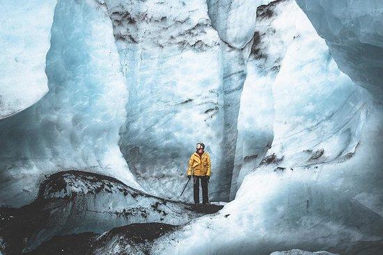 南海岸:火与冰|冰川远足,LAVA,瀑布和黑沙滩
