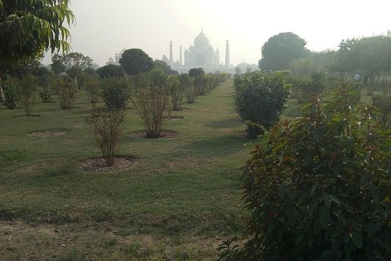 Privat Taj Mahal Sunrise Day Tour Fra...