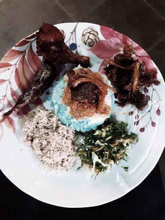 Pasir Mas, Малайзия: Nasi kerabu
