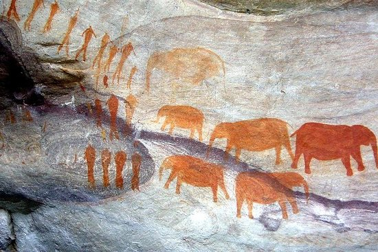 Visite privée d'une journée de l'art rupestre du Drakensberg Kamberg...