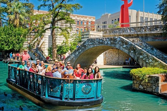 San Antonio River Walk Cruise, Hop-On...