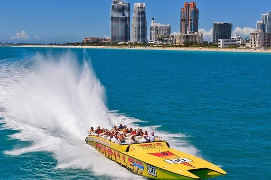 Speedboat Sightseeing Tour of Miami