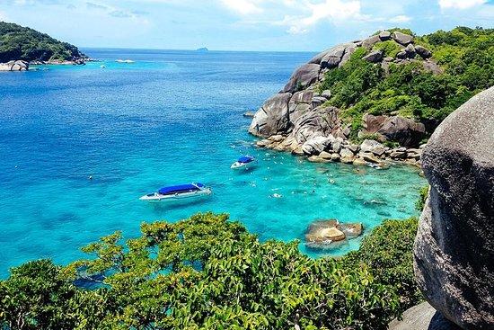Visite des îles Similan au départ de...