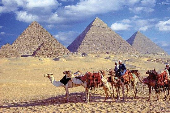 從開羅開始的吉薩金字塔獅身人面像薩克斯卡和孟菲斯一日遊