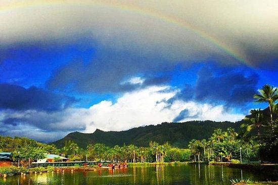 皮划艇和瀑布徒步威卢阿河