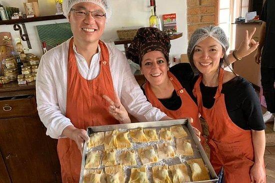 Lezione di cucina in Toscana