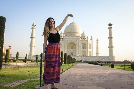Sunrise Taj Mahal & Agra Fort Tour From...