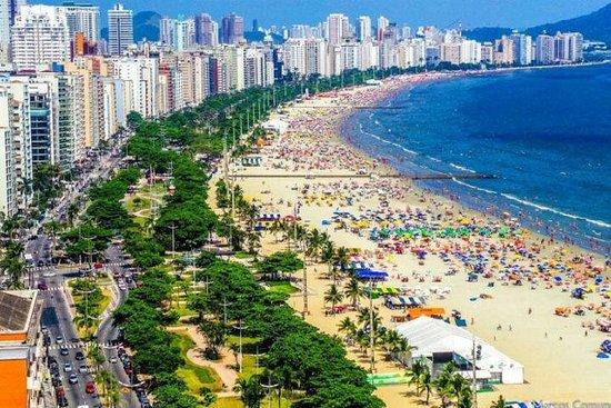"8-uur durende strandstad Santos ""Private Tour"""
