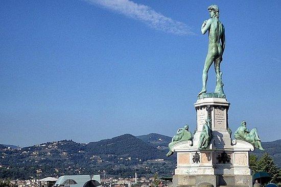 Grand Panoramic Private Tour av Firenze av minivan