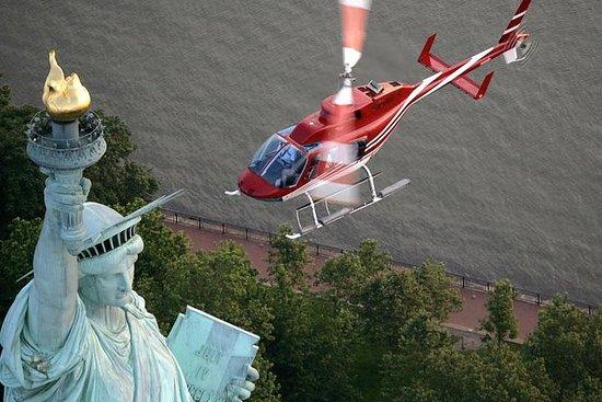 Tour en helicóptero por la ciudad de...