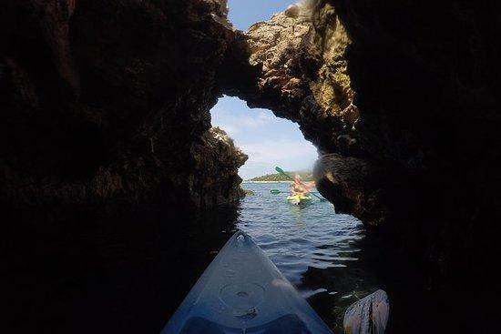 Snorkel- en kajaktocht met gids