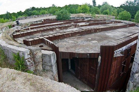 巨大な放棄された核バンカー-ソ連で3番目に大きい