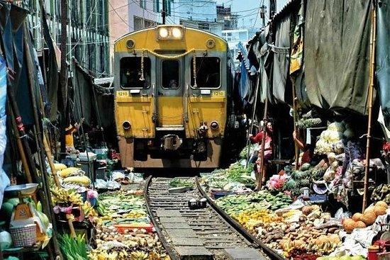 Bangkok - marché à risque et marché...