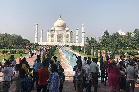 Visite privée du Taj Mahal et d'Agra...
