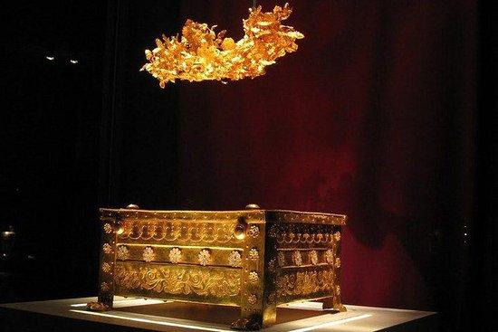 Tour della Macedonia antica (Pella e