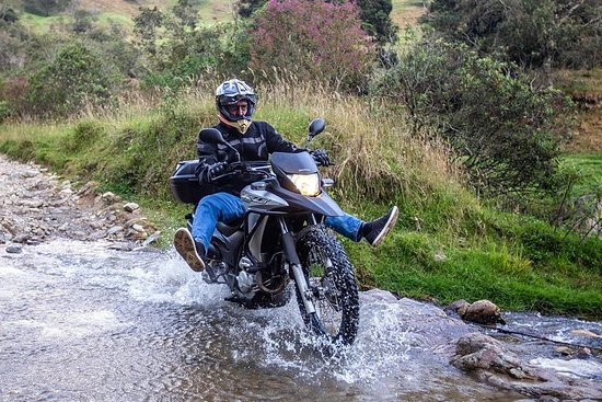 Off-Road Motorcycle Riding and Trout Fishing – fénykép