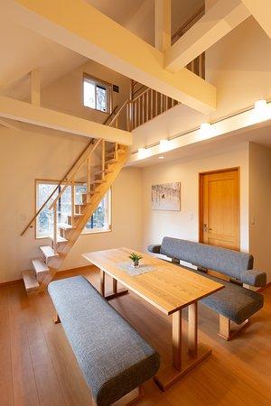 2 Bedroom Suite + Loft Living Room & Kitchen
