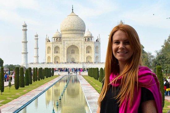Taj Mahal - Circuit le même jour en...