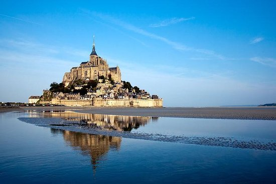 Mont Saint Michel Guidet tur fra Paris...