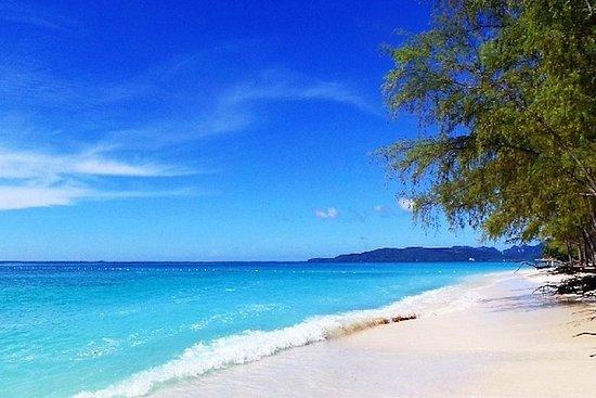 La isla Rok y la isla Haa en lancha...