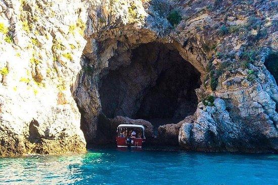 小組陶爾米納海岸線和Isola Bella乘船遊覽