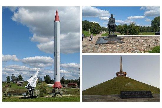 ミンスクからスターリンライン、ハティンメモリアルコンプレックス、栄光の丘への…