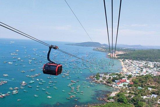 纜車和3個島嶼全天在富國島