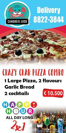 Nuetro Pizza Combo! A super deal!