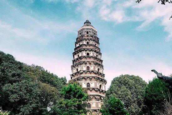 タイガーヒルとマスターオブネットガーデンを含む上海からの蘇州プライベートツア…
