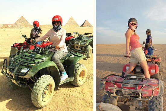 Private Day Tour of Saqqara and Quad...