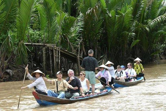从胡志明市出发的湄公河三角洲一日游