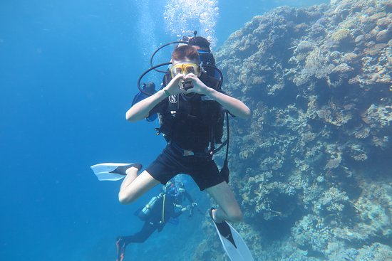 Hurghada, Egypt: First diving for my boy